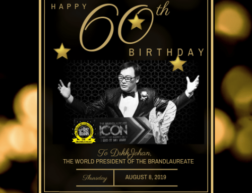 A SALUTE TO A BRAND ICON 60th BIRTHDAY
