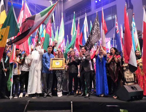 CONGRATULATIONS : Limkokwing University of Creative Technology on receiving The BrandLaureate Country Branding Awards for promoting World Cultural Diversity