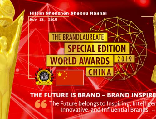 The BrandLaureate Awards goes to China
