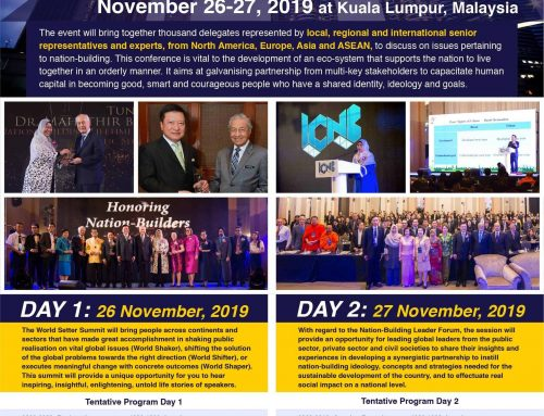 EVENT HIGHLIGHT: International Conference on Nation-Building 2019