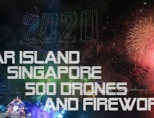 FIREWORKS AND 500 DRONES AT STAR ISLAND SINGAPORE COUNTDOWN EDITION 2019-2020