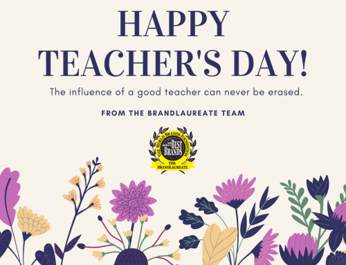 Happy Teacher's Day From The BrandLaureate Team!