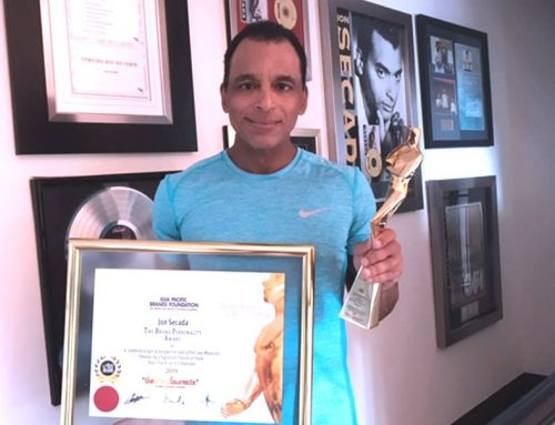 JON SECADA: International Brand Personality Award 2019