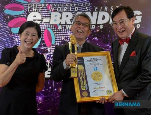 Bernama receives Brandlaureate Strategic Business Partner Award