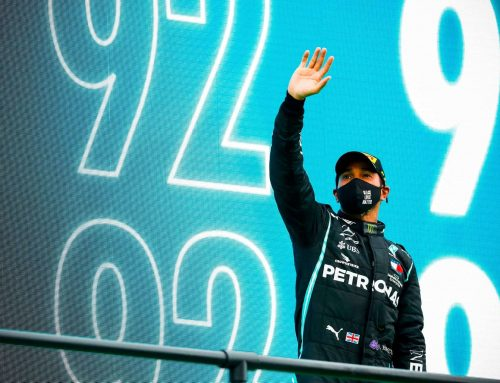 CONGRATULATIONS to six-times world champion Lewis Hamilton – NINETY TWO WINS