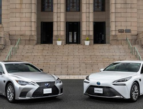 Toyota's new Mirai and Lexus LS models come with Advanced Drive assistance tech