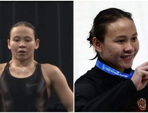 || PANDELELA WINS MALAYSIA'S FIRST-EVER GOLD MEDAL AT DIVING WORLD CUP ||