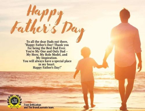 Happy Father's Day from The BrandLaureate Team.