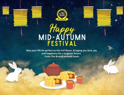 Happy Mid-Autumn Festival from The BrandLaureate team