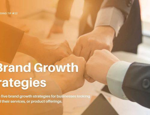 5 Brand Growth Strategies